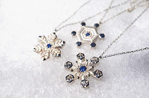 雪の結晶ネックレス✧MASAKI AMSEI✧ 松本のアクセサリーアトリエ