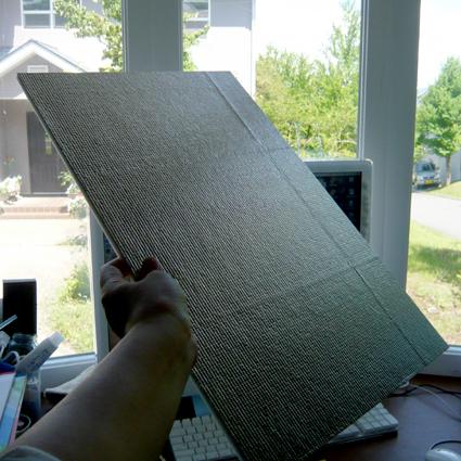 以前から、デコったものを撮影するのに、出来映えが不満だったので、 レフ... レフ板作った