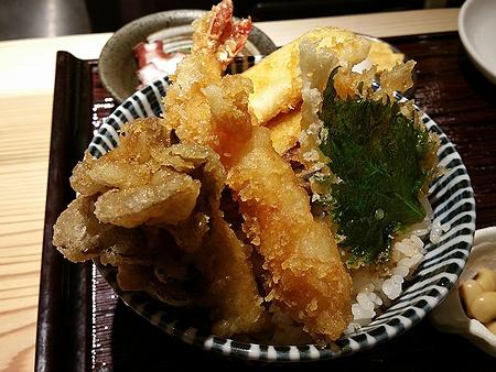 天ぷらと寿司18坪 ~カラっと揚がった天丼~