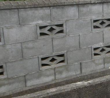 新構造のすかしブロック