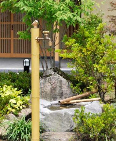 お庭の水道④