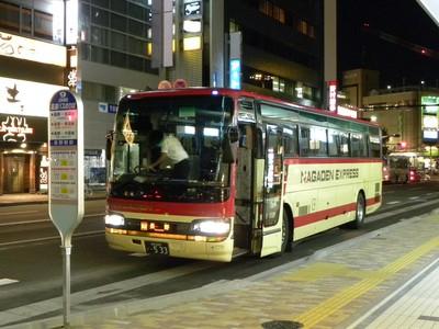 【長電バス】 新しい高速バス乗り場と新型車両(仮)長野の ...