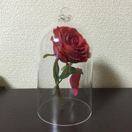 劇中に出てくる魔法のバラの作り方がネットに出てたのでマネして作ってみました(o^^o)