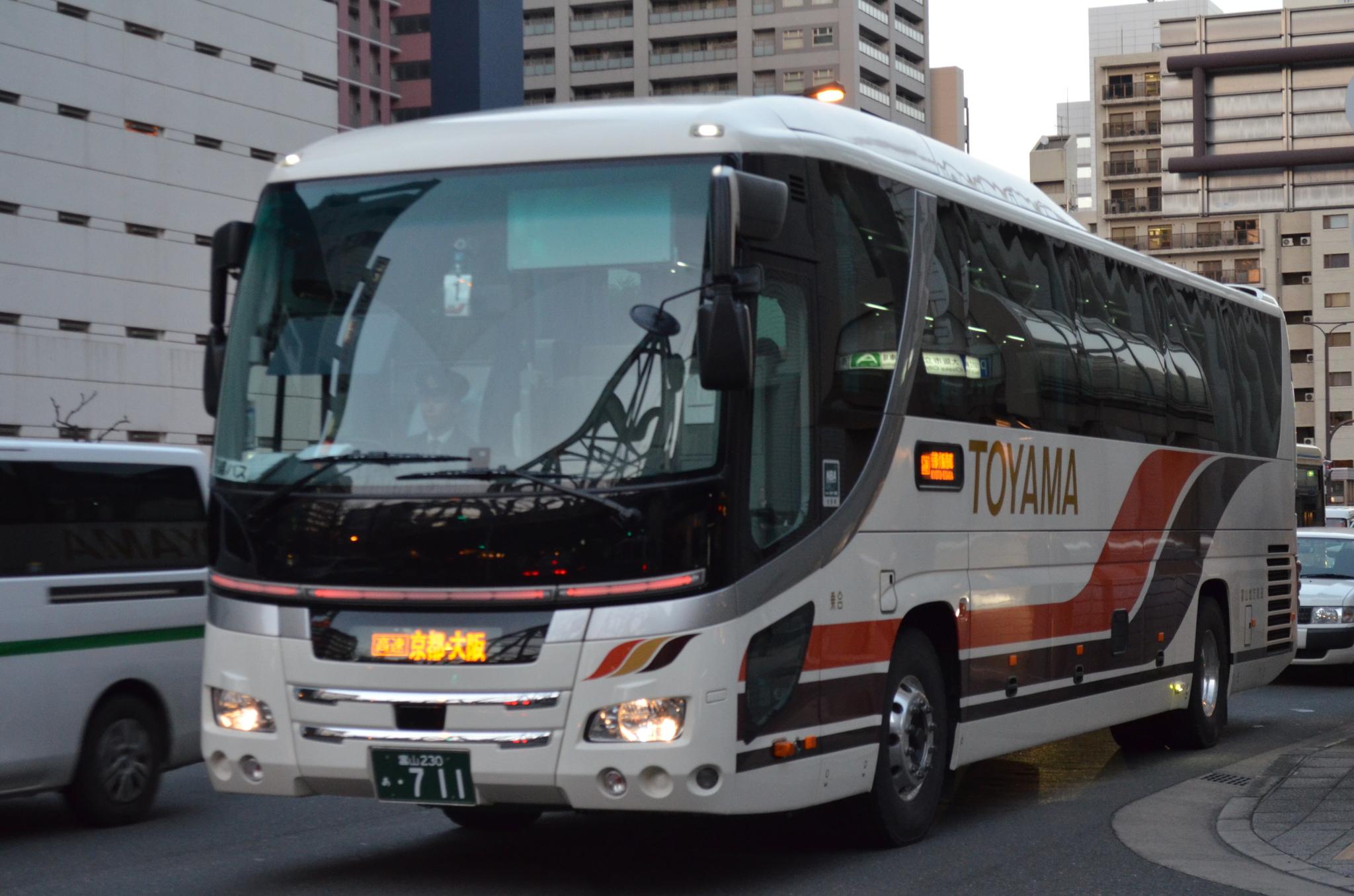 高速バス 富山