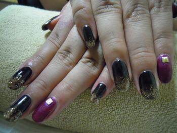 Makana☆Blog紫×黒
