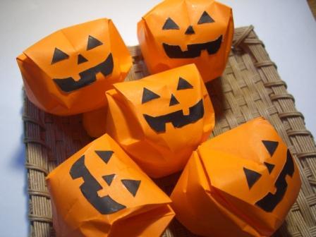 花 折り紙:折り紙 かぼちゃ 折り方-marupee1013.naganoblog.jp