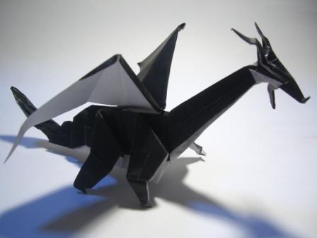 折り 折り紙 折り紙ドラゴンの作り方 : marupee1013.naganoblog.jp