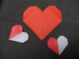 折り紙でハートは作れる!?簡単に作れるハートの折り方をご紹介!のサムネイル画像