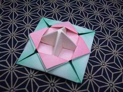 ハート 折り紙:折り紙 独楽-marupee1013.naganoblog.jp