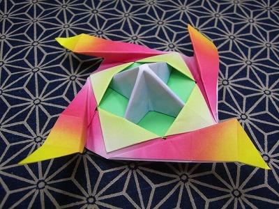簡単 折り紙 折り紙 こま 3枚 折り方 : marupee1013.naganoblog.jp