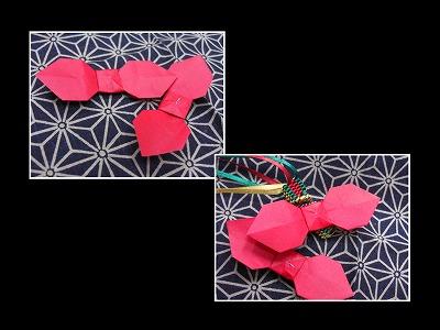 クリスマス 折り紙 折り紙 リボン : marupee1013.naganoblog.jp