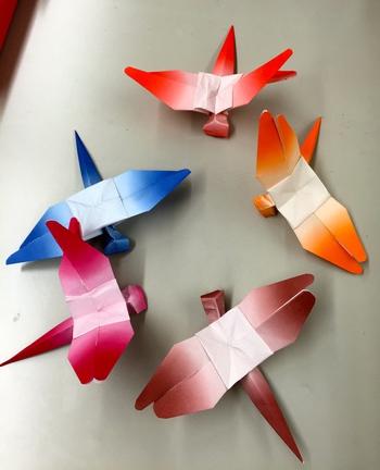 飛行機 折り紙:折り紙 トンボ-na6ko1jankenpon.naganoblog.jp