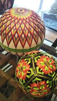 伝統の松本手毬‼️画像