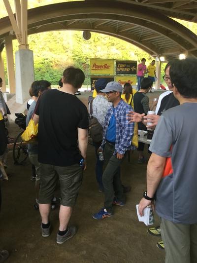 SDA王滝2017 5月前日