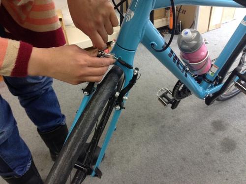 トレッククロスバイク FX3 カルフォルニアスカイブルー