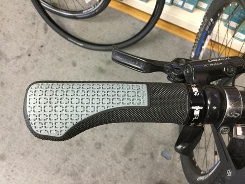 自転車のグリップ