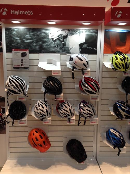 ボントレガー自転車のヘルメット