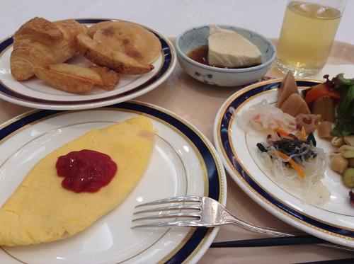 京都プリンスホテルの朝食