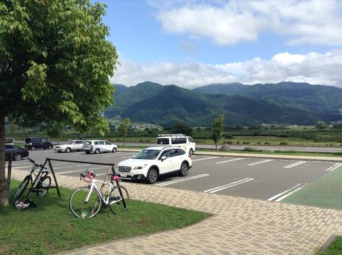 飯山道の駅 サイクルスタンド
