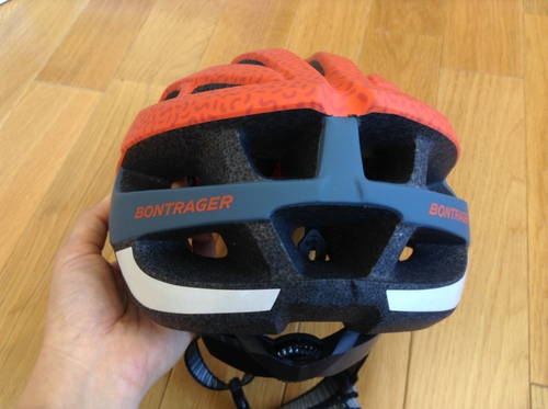 Bontrager Solstice Asia Fit Helmet Rorange / Pacific Blue