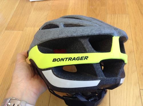 Bontrager Solstice Asia Fit Helmet グレイVis後ろから