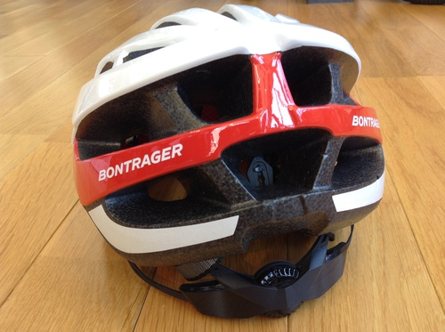 Bontrager Solstice Asia Fit Helmet 新色白赤