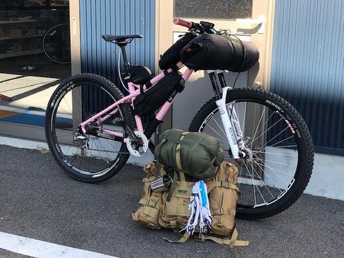 自転車でキャンプに行こう! 「荷物準備編」