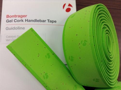 ボントレガーゲルコルクハンドルバーテープ catalyst green