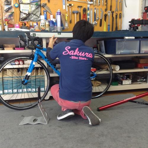 サクラバイクストア 自転車購入の流れ