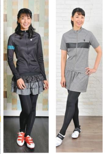 カペルミュール 女性の着用例