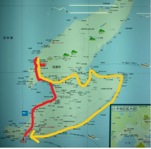 佐渡コースマップ
