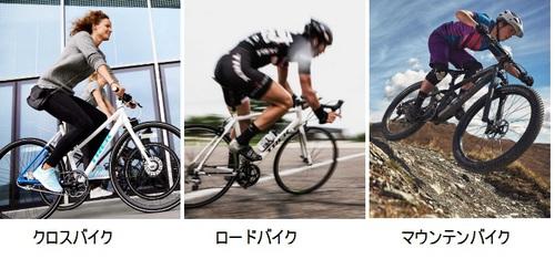 スポーツ自転車の種類