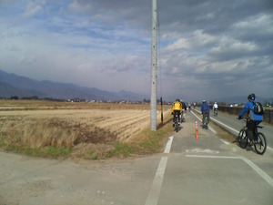 ... 自転車道線(あづみ野やまびこ