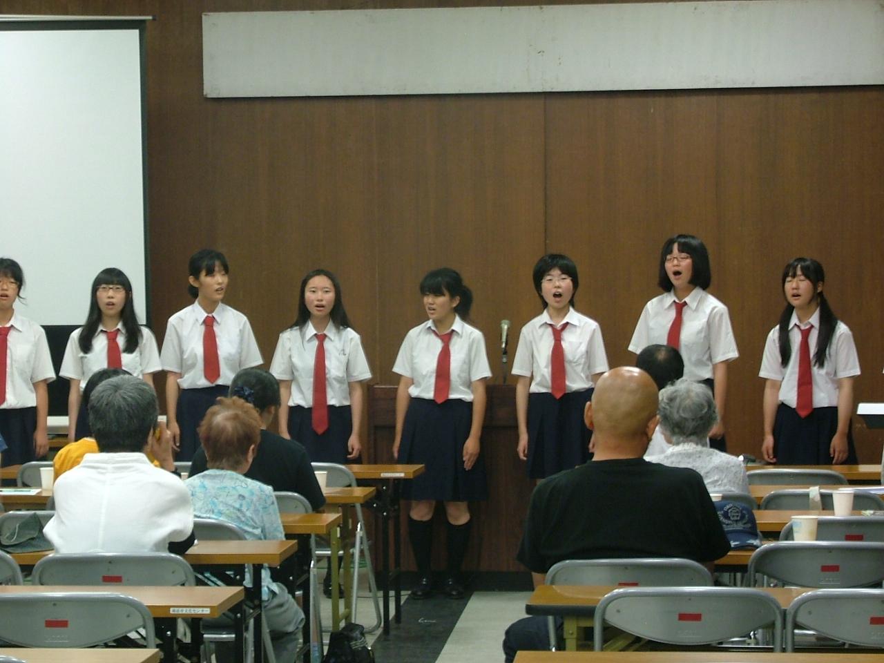 諏訪二葉高等学校制服画像